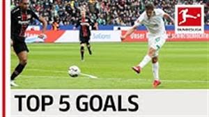 5 گل برتر مکس کروز در فصل 19-2018 بوندسلیگا آلمان