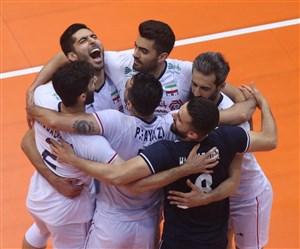 صعود ایران به فینال لیگ جهانی والیبال با شکست پارتیزان ها
