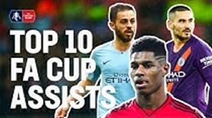 10 پاس گل برتر جام FA Cup انگلیس فصل 19-2018