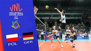 خلاصه والیبال آلمان 1 - لهستان 3 (لیگ ملتهای والیبال)