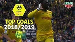 سه گل برتر تیم نانت در فصل19-2018 لوشامپیونه
