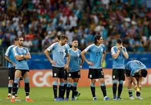 سوارز پنالتی خراب کرد، اروگوئه حذف شد