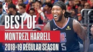 بهترین عملکرد مونترزل هارل در بسکتبال NBA فصل 2018/19