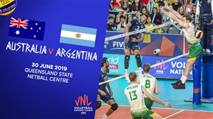 خلاصهوالیبال آرژانتین3-استرالیا 0 (لیگملتهایوالیبال)