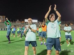 تمرینات الاهلی عربستان زیر نظر برانکو برای دیدار با الهلال