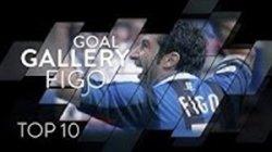 10 گل برتر لوئیس فیگو با پیراهن اینتر