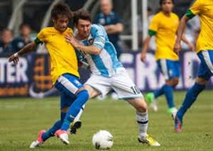 بازی خاطره انگیز آرژانتین - برزیل
