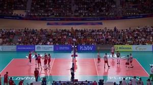 خلاصه والیبال صربستان 3 - بلغارستان 0(لیگ ملتهای والیبال)
