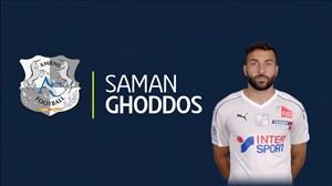 2 گل از سه گل برتر فصل آمیان سهم سامان قدوس