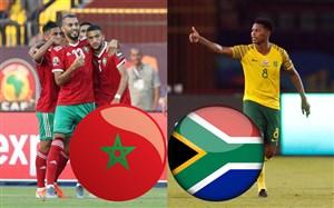 خلاصه بازی آفریقایجنوبی 0 - مراکش 1 (جلمملتهایآفریقا)