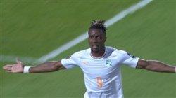 گلزنی ویلفرد زاها برای ساحل عاج
