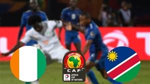 خلاصهبازی ساحلعاج 4 - نامیبیا 1 (جامملتهایآفریقا)