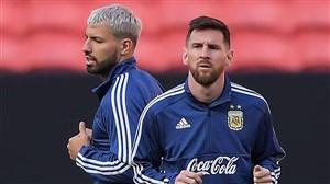 تمرین امروز تیم ملی آرژانتین (13-04-98)