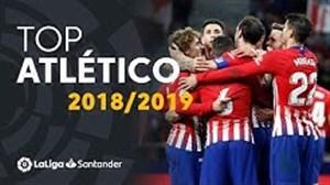 برترین گلهای اتلتیکو مادرید در لالیگا فصل 19-2018