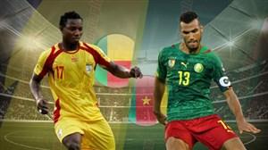 خلاصه بازی بنین 0  - کامرون 0 (جام ملت های آفریقا)