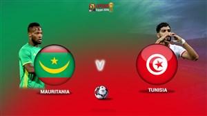 خلاصه بازی موریتانی 0 - تونس 0 ( جام ملت های آفریقا)