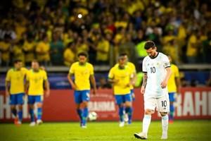 عملکرد مسی در مقابل برزیل