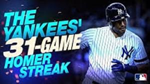 31 ضربه برتر تیم نیویورک سیتی در مسابقات بیس بال
