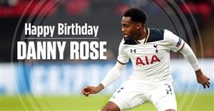 تبریک باشگاه تاتنهام به مناسبت تولد دنی رز