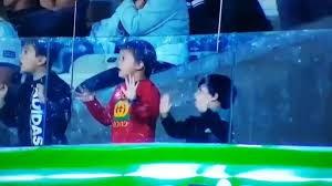 واکنش جالب فرزندان مسی به سیو عالی آلیسون