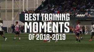 برترین لحظات بازیکنان یوونتوس در تمرینات 19-2018