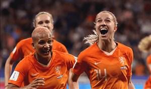هلند، حریف آمریکا در فینال جام جهانی زنان