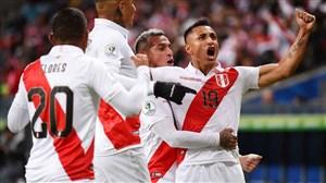 صعود تیم ملی پرو به دیدار پایانی کوپا آمریکا