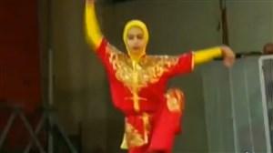 بانوان نوجوان ووشو در اردوی اصفهان
