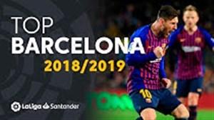 برترین گلهای بارسلونا در لالیگا فصل 19-2018