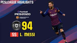 قدرت بازیکنان بارسلونا در PES 2020