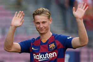 گریه مدیر بارسلونا پس از امضا قرارداد با دی یونگ!