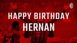 تبریک باشگاه آثمیلان به مناسبت تولد هرنان کرسپو