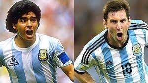 مقایسه مسی و مارادونا از زبان کالدرون