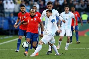 درگیری ویدال با بازیکنان آرژانتین