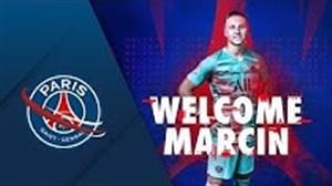 خوش آمد گویی مارسین بولکا دروازه بان جدید PSG