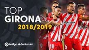 بهترین گلهای خیرونا در لالیگا 19-2018