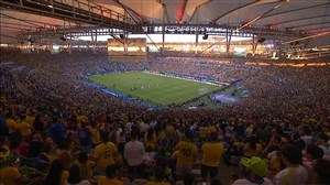جو فوقالعادهاستادیوم ماراکانا هنگامپخشسرود برزیل