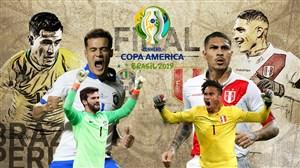خلاصه بازی برزیل 3 - پرو 1 (گزارش اختصاصی)