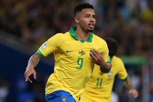 گل دوم برزیل به پرو (ژسوس)