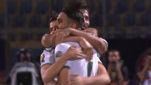 گلزنی ریاض محرز برای الجزایر در جام ملت های آفریقا