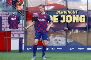 استقبال جالب دیلیخت از خرید جدید بارسلونا
