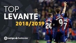 برترین گلهای تیم لوانته در لالیگا 19-2018