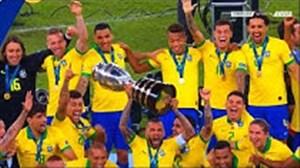 تمام گلهای تیم ملی برزیل در کوپا آمریکا 2019