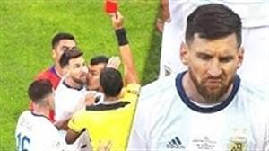 کارت قرمزهای بازیکنان مشهور فوتبال جهان