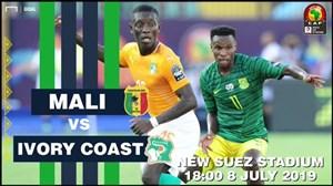 خلاصه بازی مالی 0 - ساحل عاج 1 (جام ملتهای آفریقا)