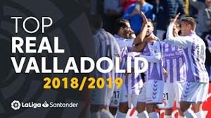 10 گل برتر رئال وایادولید از نگاه لالیگا فصل 19-2018