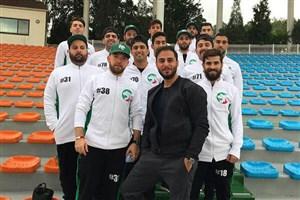 دومین برد اینلاین هاکی ایران در رقابتهای جهانی