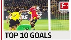 10 گل برتر تیمی بوندسلیگا فصل 19-2018
