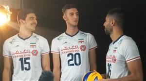 پشت صحنه تیزر مرحله نهایی لیگ ملتهای والیبال