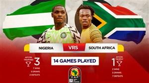 خلاصه بازی نیجریه 2 - آفریقای جنوبی 1 (جام ملت های آفریقا)